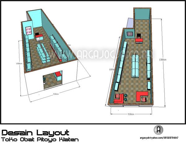 Desain Perabot Furniture Minimalist untuk Toko Anda