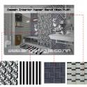 Desain Interior Kamar Mandi Dengan Dekorasi Warna Hitam Putih