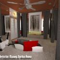 Desain Interior Ruang Serba Guna Mungil