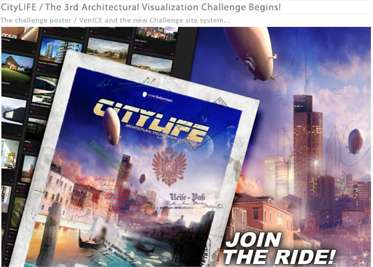 Lomba Desain Architecture Visualitation, CityLIFE