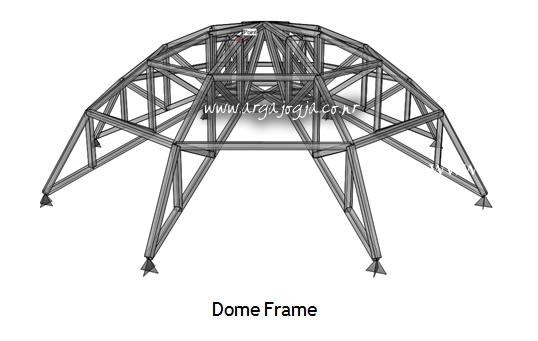 Contoh Pemodelan Struktur Dengan SAP 2000