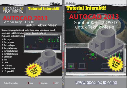 Cara Mencetak Gambar Kerja Mesin pada AutoCAD 2013