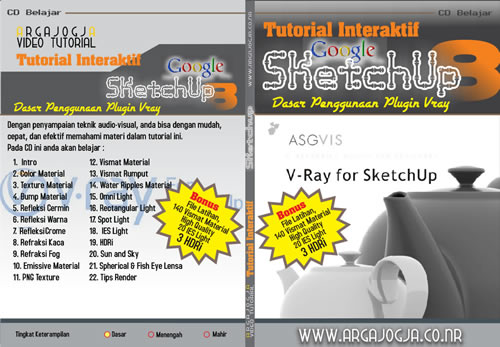 Video Tutorial Dasar Penggunaan Plugin Vray Pada Sketchup 8 Available Now!