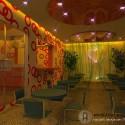 Desain Interior Cafe Glamour Indoor Yang Menawan
