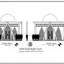 Gambar Kerja Tampak Depan Masjid Mungil