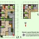 Desain Layout Denah Rumah dan Kos-Kosan