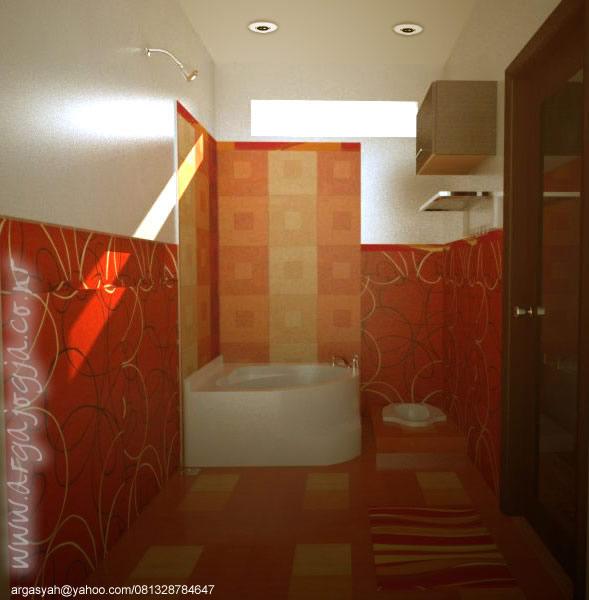 Desain Interior Kamar Mandi Ukuran 2x3 Meter