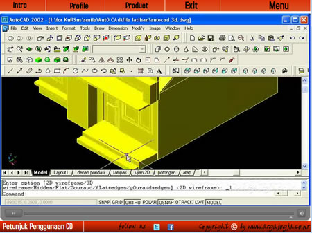 Video Tutorial Pembuatan Rumah dengan AutoCAD dan 3ds Max Available Now