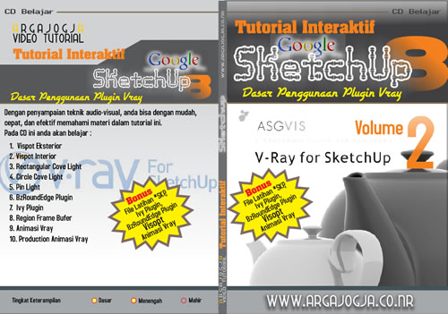 Video Tutorial Dasar Penggunaan Plugin Vray Pada Sketchup 8 Volume 2 Available Now