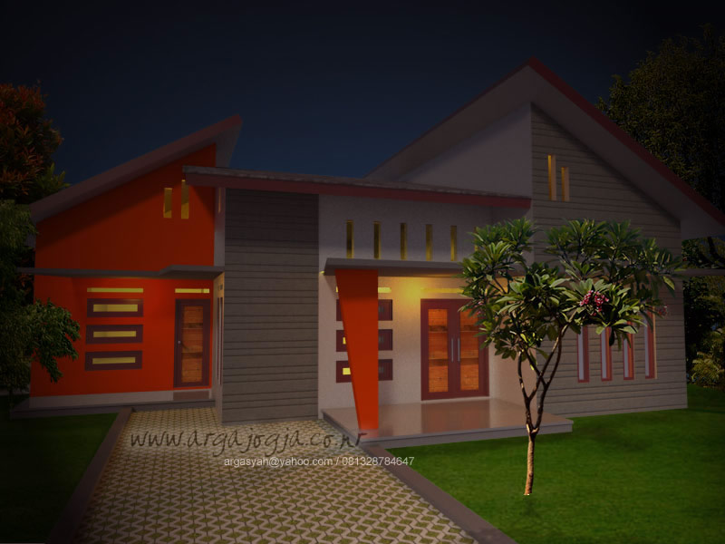 ain Rumah Tropis Gaya Modern Minimalis 2014