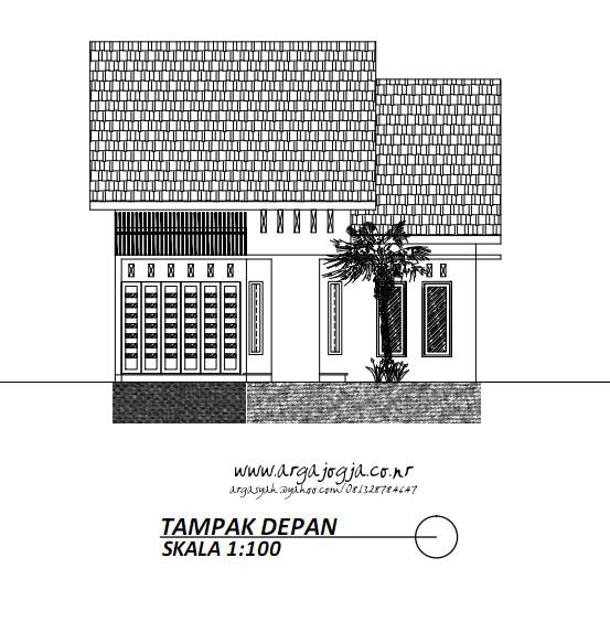 Tampak Depan Fasad Rumah Modern Minimalis di Lahan Yang Tidak Sejajar Jalan