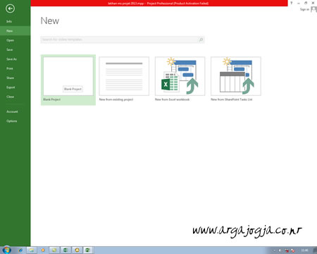 Video Tutorial Microsoft Project 2013 Step by Step