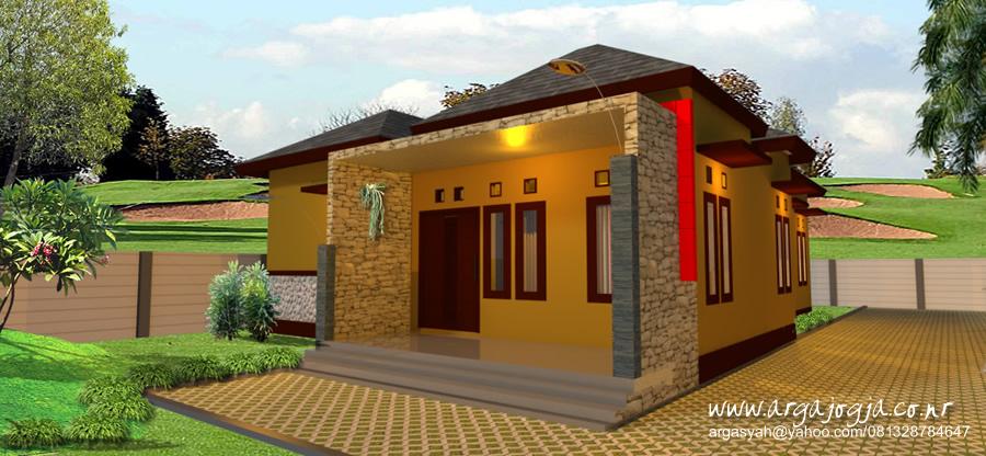 Render 3D Renovasi Rumah Tropis