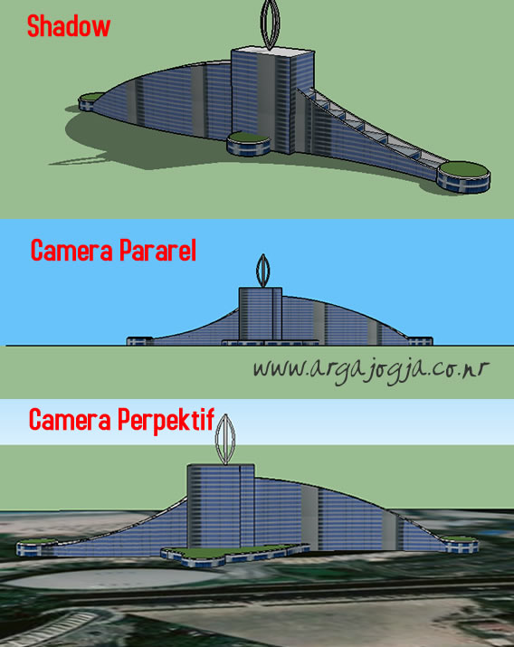 Cover CD Video Tutorial Sketchup 2014 Desain Arsitektur gedung Tinggi