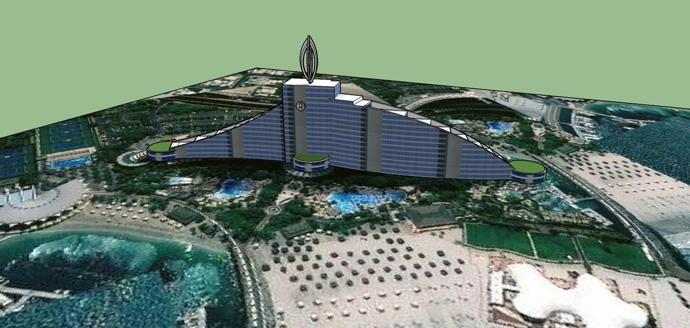 Perpektif Video Tutorial Sketchup 2014 Desain Arsitektur gedung Tinggi