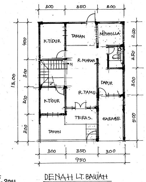 Pengembangan Fasad Rumah 2 Lantai