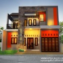 Pengembangan Desain Fasad Rumah 2 Lantai