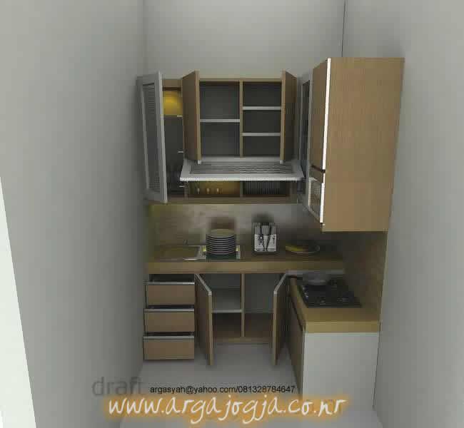 Desain Kitchen Set Kecil