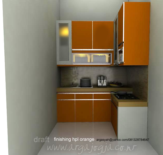 Kitchen Set Orange