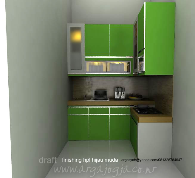 Kitchen Set Hijau Muda