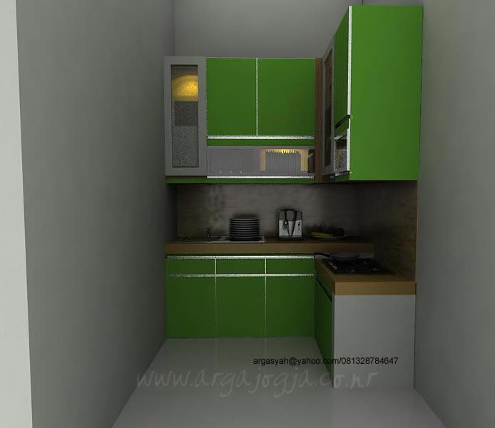 Desain Kitchen Set Hijau Muda Argajogja S Blog