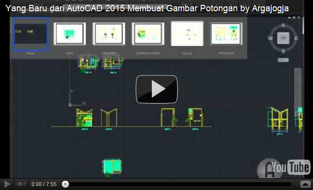Video Fitur Baru AutoCAD 2015