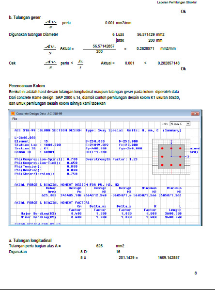 contoh-isi-laporan-perhitungan-tulagan-kolom