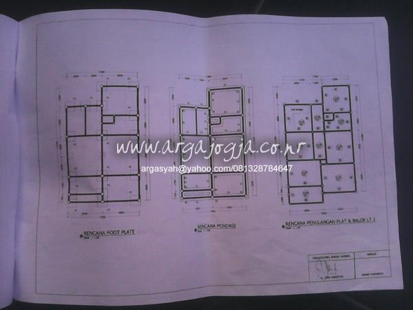 gambar struktur pondasi sloof