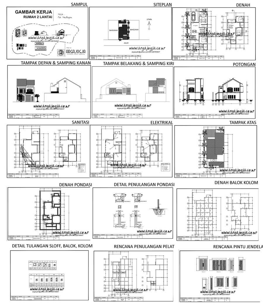 Paket Jasa Desain Arsitek: Daftar Harga Jasa Sipil Dan Arsitektur (klik Web Version
