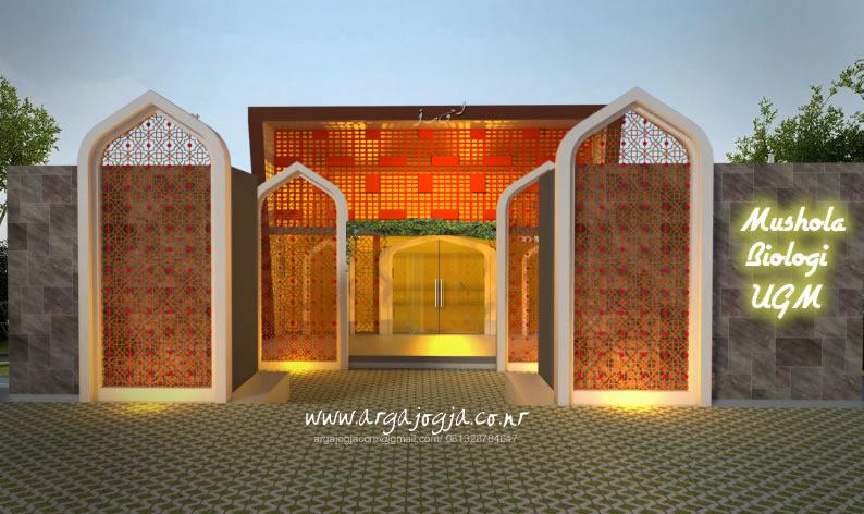 Tampak Depan Fasad Mushola