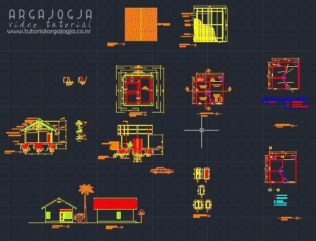 Gambar Kerja Rumah Sederhana