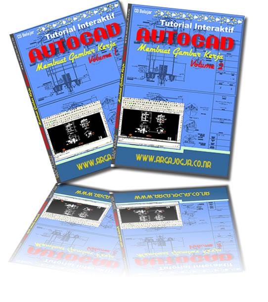 Paket Tutorial AutoCAD Gambar Kerja Rumah Sederhana
