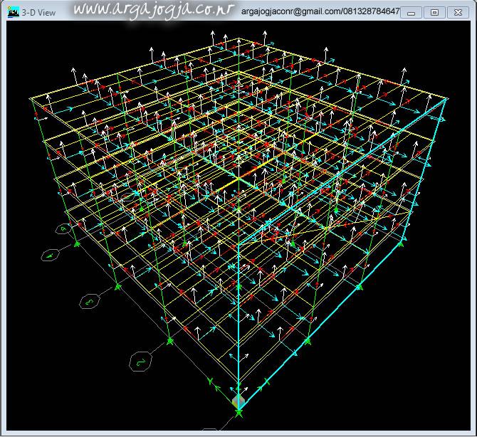 Tampila 3D lokal axes