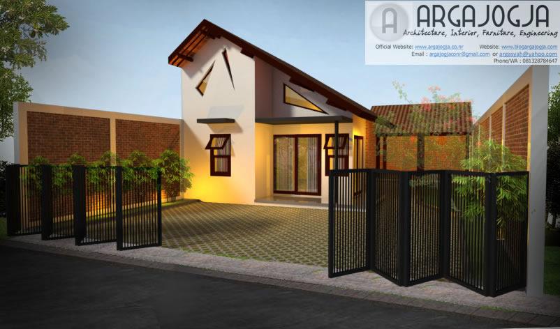 Desain Fasad Rumah Tropis