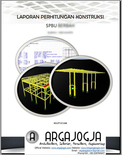 Cover laporan kontruksi SPBU