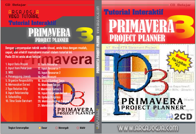 Cover CD Tutorial Primavera