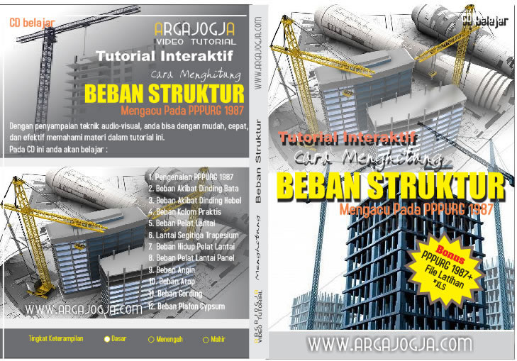 cover video tutorial cara menghitung beban struktur