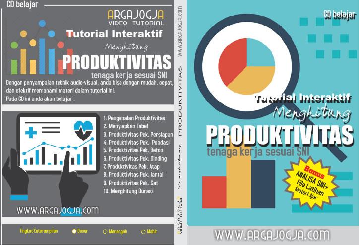 cover tutorial argajogja menghitung produktivitas