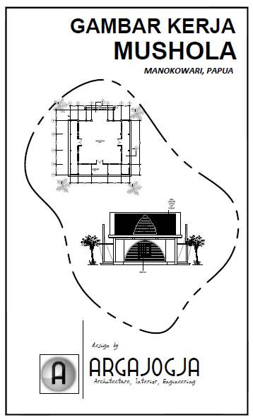 Desain Mushola Minimalis