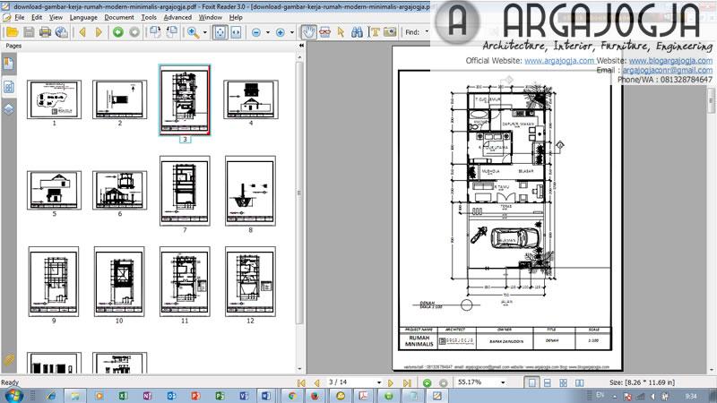 Tampilan Download File PDF
