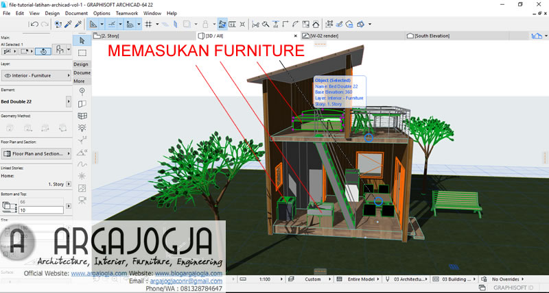 memasukan-furniture