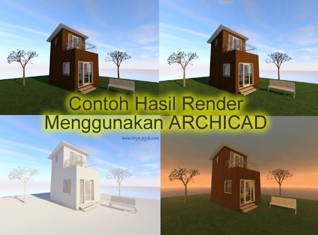 contoh-hasil-render-archicad