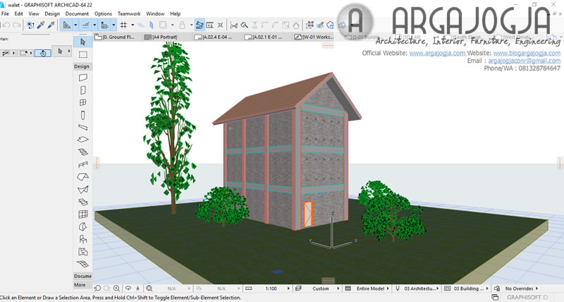 tampilan-3d-archicad