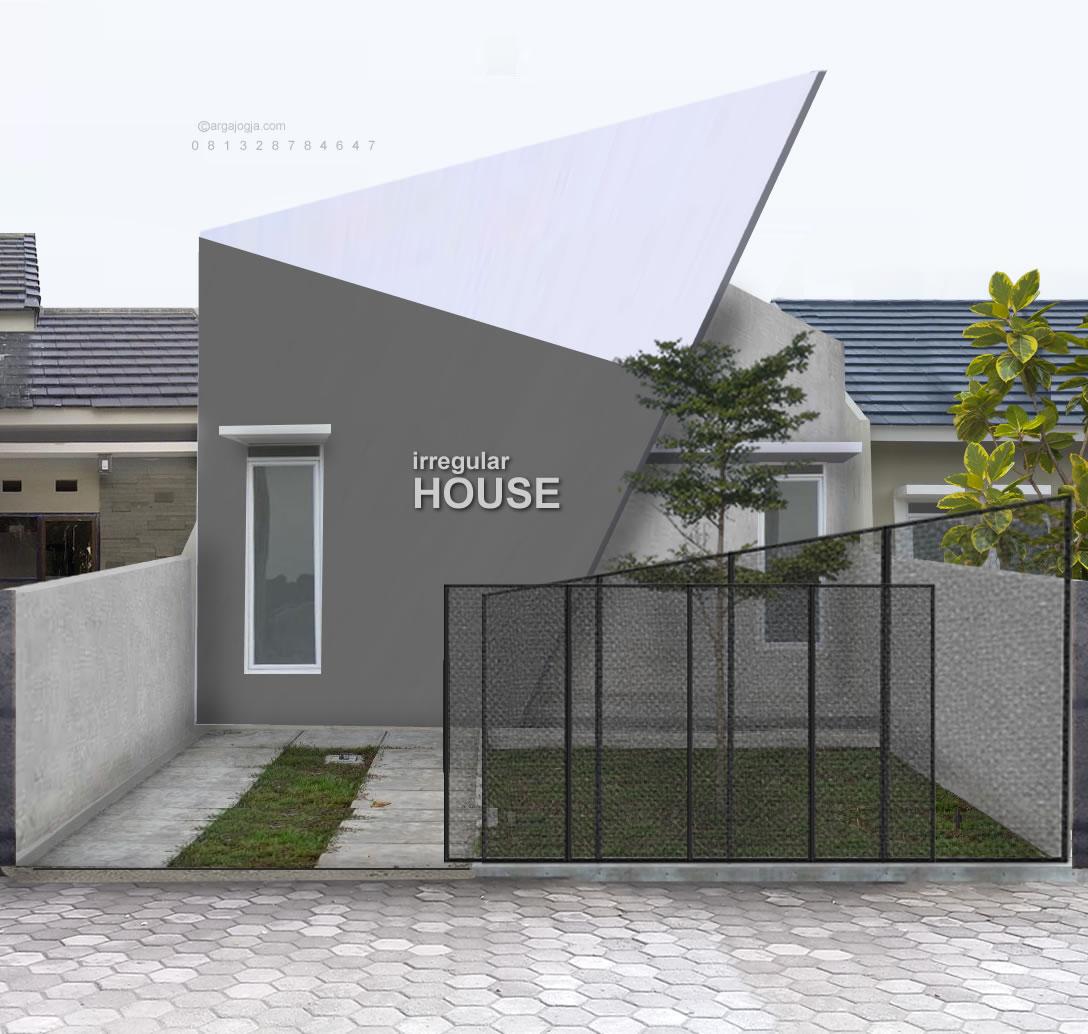 Desain Rumah Fasad Unik