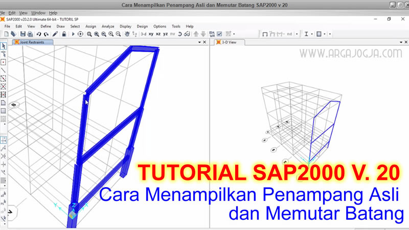 tutorial SAP2000