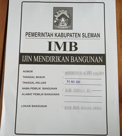 MAP Berkas IMB
