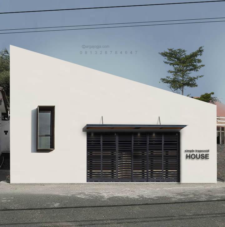rumah gaya industrial