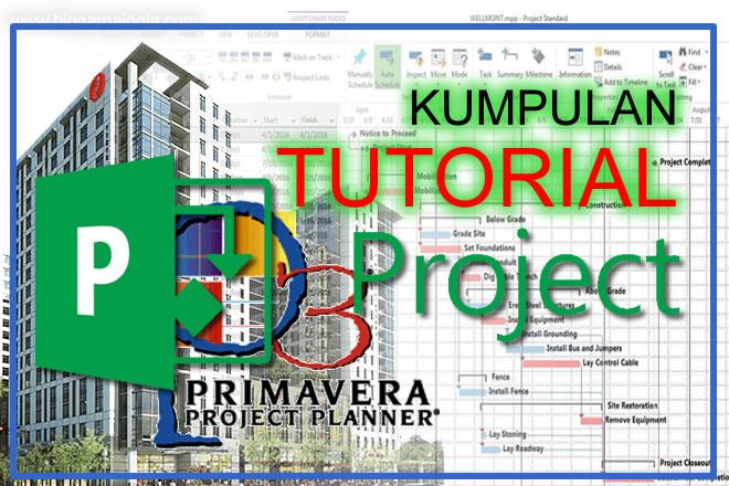 kumpulan tutorial ms project primavera