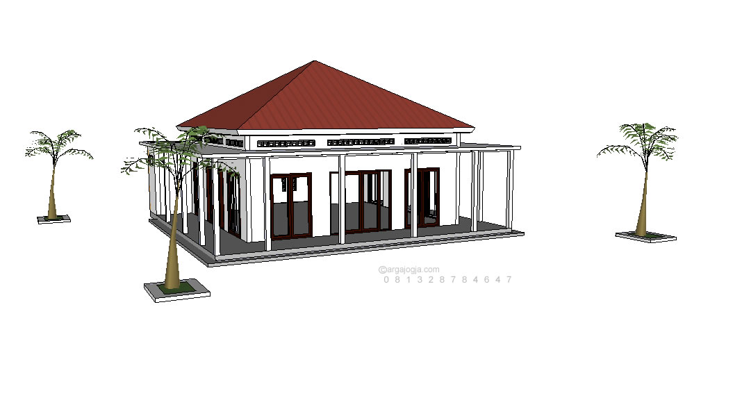 Download Masjid Sketchup