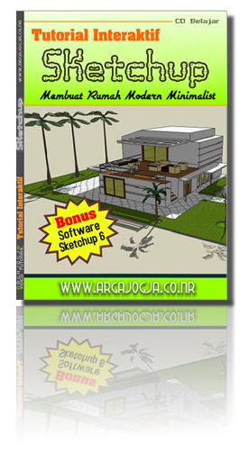 Tutorial Interaktif  Pembuatan Rumah Modern Minimalist Dengan Sketchup